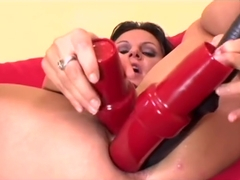 Ariana Jolee and two cocks - Mayhem