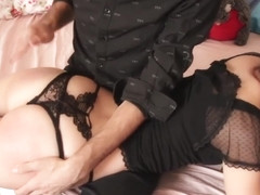 Caught Spanked And Punished by Step Dad