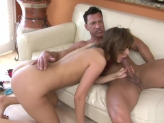 Hot Bella Luciano does some anal