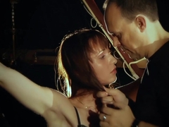 Whispers of pain in hardcore bdsm and bondage teen slave