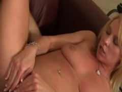 Amazing pornstar Aria Austin in incredible blowjob, blonde sex movie