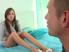 Incredible pornstar in Horny Brunette, Facial xxx scene