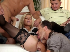 Fabulous pornstar Klarisa Leone in Crazy Big Tits, DP porn video