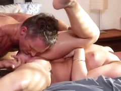 Bonny ginger Maddy Oreilly is getting moneyshot