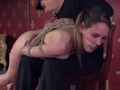 Bound Bdsm Sub Whipped And Spanked By Maledom