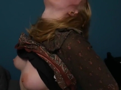 Stoned Hippie Girl Takes Home Stranger And Lets Him Cum In Her Pussy