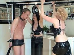 Double trample booted mistress part 1