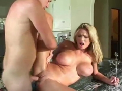 Briana Banks Kitchen squirt