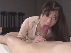 Mizuki Ogawa Sucks It Hard Before Placing It In Her Vag