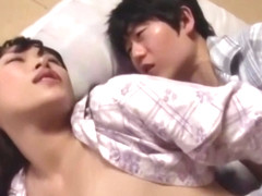 Curious step son sticks his dick in step mommy while she sleeps