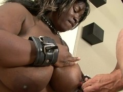 RawVidz Video: Huge Black Bitch BDSM Punishment