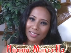 Exotic pornstar Nyomi Marcela in hottest facial, asian sex movie