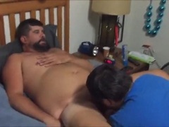 Married cub spit roasted bare