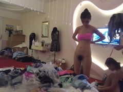 Chinese Backstage Hotel Room Candid Cam 02