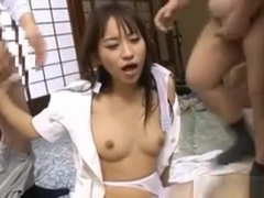 Mika Osawa Has Dicks In Holes In Group