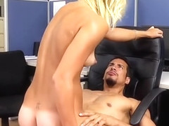 WANKZ- JC Simpson Takes Enormous Cock At Lunch