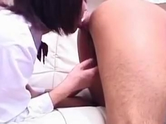 Sexy Arisa Suzuki riding cock like a pro!