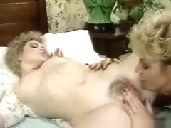Perfection (1985) - 2 hot blondes in lesbian orgasm vintage w