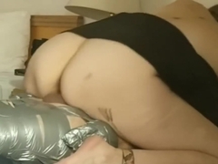 DuctTape Domination P3: Nose Sucking/Breath Play/Fucking/Female Orgasm
