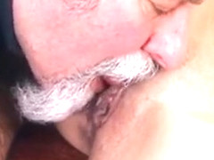 Horny Young Sweetie Likes Every Inch Of Old Penis In Pussy