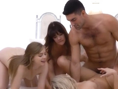Exotic sex scene Small Tits incredible show