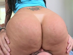 Latina with big phat ass Madison Foxx drilled