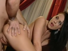 Amazing pornstar Sophie Angel in hottest facial, brunette porn scene