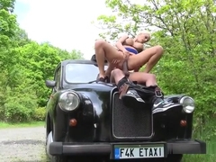 Chesty Driver Blanche Bradburry Gets Fucked By Client