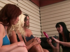 Incredible pornstars Brittany O'Connell, Nikita Von James, Devon Lee in Crazy MILF, Lesbian sex video