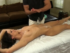 Horny pornstar Sadie Holmes in Incredible Blowjob, Small Tits sex scene
