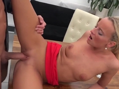 Girl fuck at the office