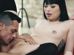 Sensual sex with asian cute