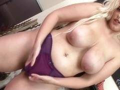 Raphaella Lily Large Tits & Cunt Play