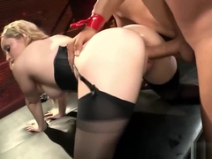 Aiden Starr Moans In Pleasure While Fucking