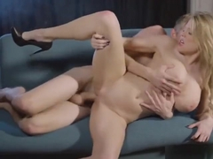 Chesty Blonde Babe Viola Bailey Gets Dicked Down