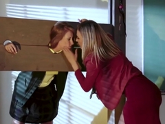 Blonde Mona Taught Harley Jade A Lesson