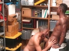 Straight Black Shoplifter Sex With Black Gay Officer