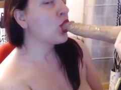 Little doll fetish strange masturbation