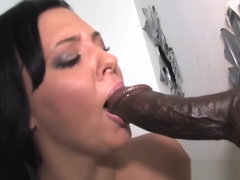 Ivy Winters Sucks Huge Black Dick - Gloryhole