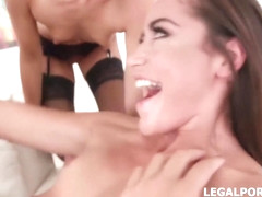 Kristy Black and Avi Love are into domination and group sex sessions, with their friend