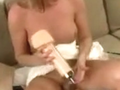 Hottest amateur shemale clip with Blonde, Masturbation scenes