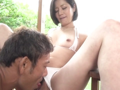 Minami Fucked In Rough Outdoor Session