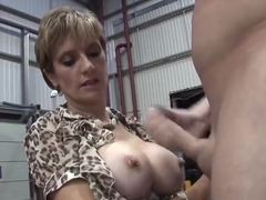 Unfaithful english milf lady sonia shows her massive knockers