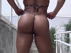 muscle woman beautiful ass