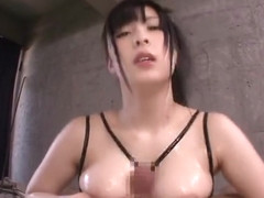 Big breast sex video featuring Mizuki Akai