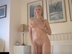 Naked Girl Photographer Shoots Cute Blonde Amy