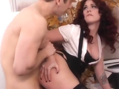 Spicy foxy MILF Andy San Dimas was hardly drilled