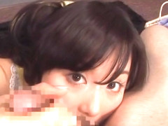 Hina Hanami naughty Japanese milf enjoys hot pov cock sucking