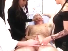 Rough Cop Chantelle Fox Giving Hj To Pervert Doctor