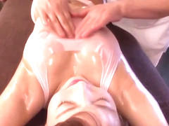 In massage center they fuck a married woman! Part 2! 50 min full video: http://bit.ly/2HX0TXy